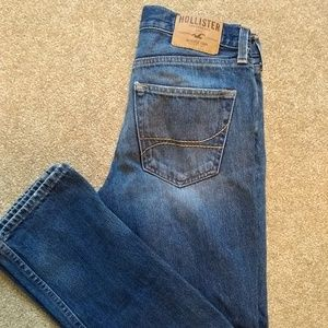 Hollister jeans 29 x 30 button fly